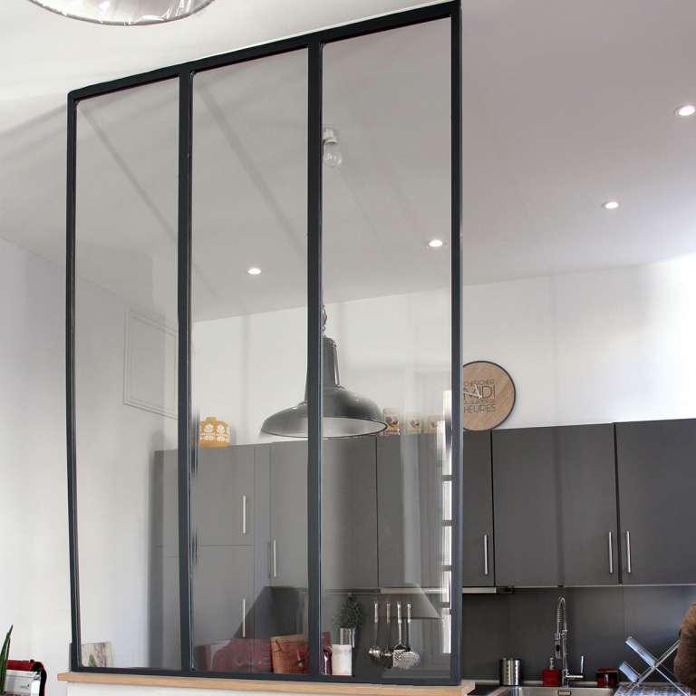 Verrière Atelier Gamme L'Original Acier de 1 à 9 vitrages sur mesure