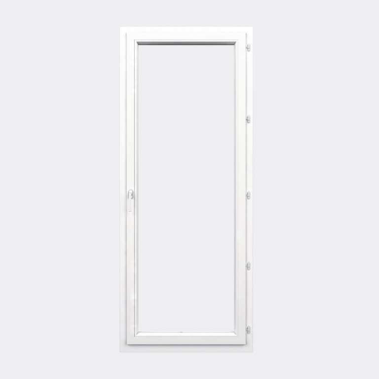 Porte Fenêtre PVC gamme Confort 1 vantail à la française fermé