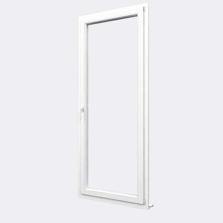 Porte Fenêtre PVC gamme Design 1 vantail oscillo-battant fermé