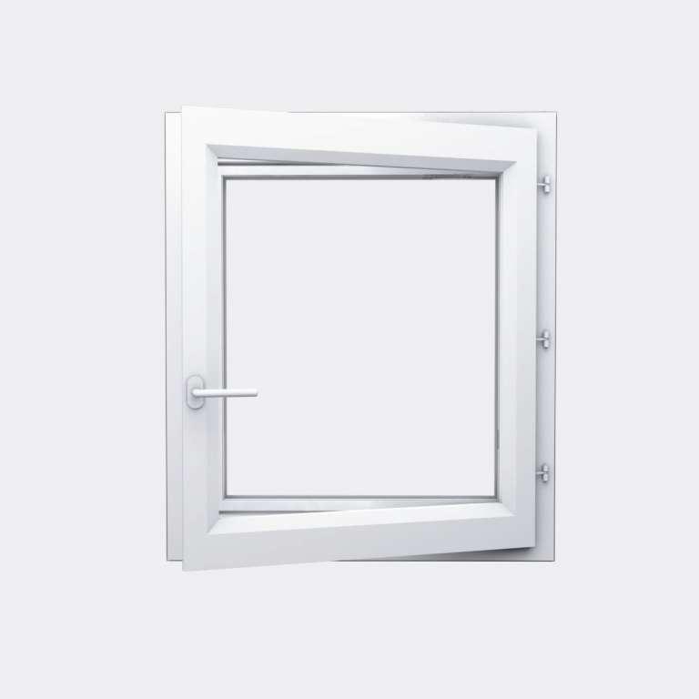 Fenêtre ALU gamme Titans 1 vantail à la française ouvert