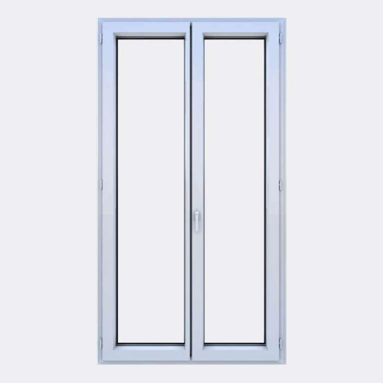 Porte Fenêtre ALU gamme Titans 2 vantaux à la française fermé