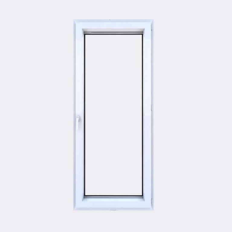 Porte Fenêtre ALU gamme Titans+ 1 vantail à la française fermé