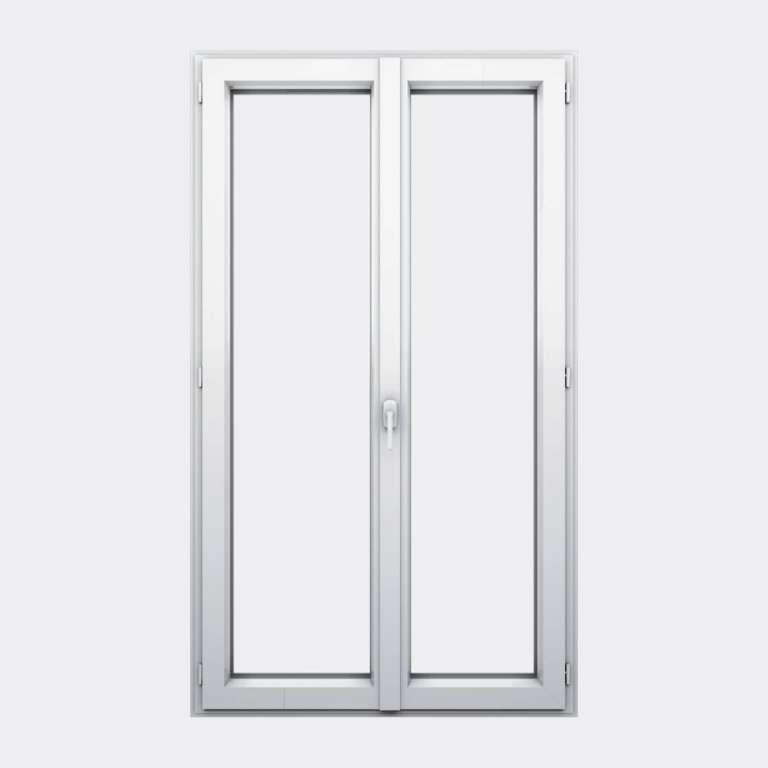 Porte Fenêtre ALU gamme Titans+ 2 vantaux à la française fermé
