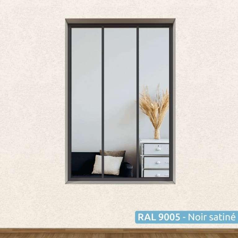 Verrière Atelier gamme L'Original Acier 3 vitrages (Sans vitrage)