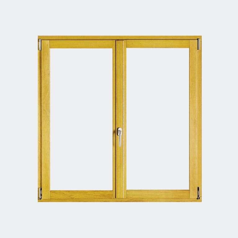 Fenêtre Bois gamme Agilité 2 vantaux ouverture à la française