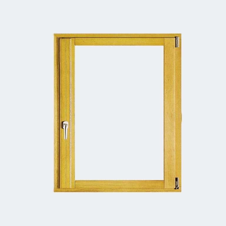 Fenêtre Bois gamme Agilité 1 vantail ouverture oscillo-battant