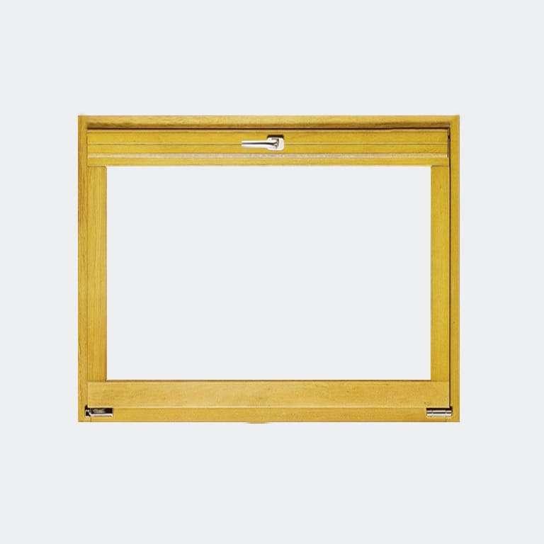 Fenêtre Bois gamme Liberté 1 vantail ouverture soufflet abattant