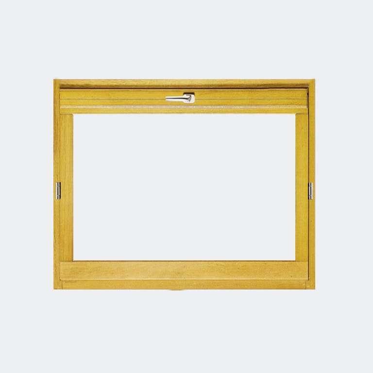 Fenêtre Bois gamme Agilité 1 vantail ouverture basculante