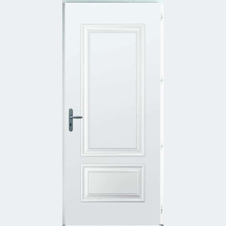 Porte entrée Acier marque Bel'M modèle ARIZONA 1 vantail
