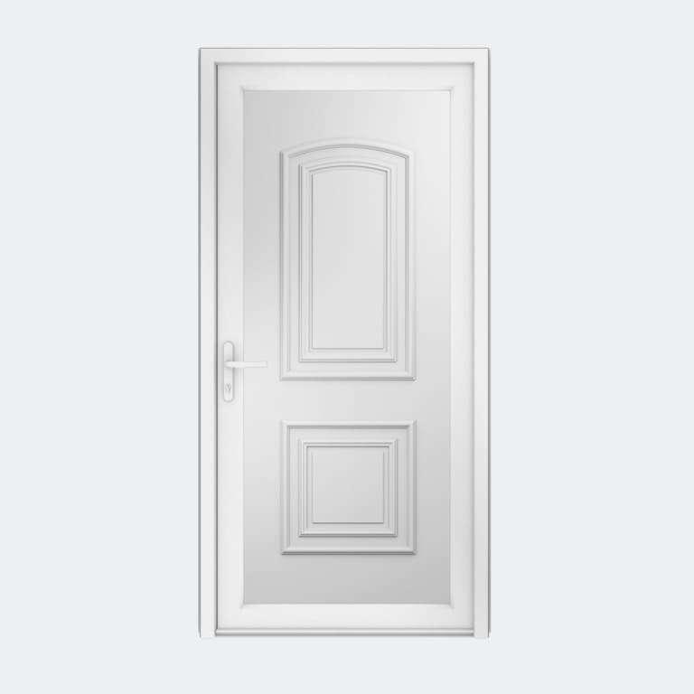 Porte entrée PVC gamme Classique modèle TAHITI S à 1 vantail