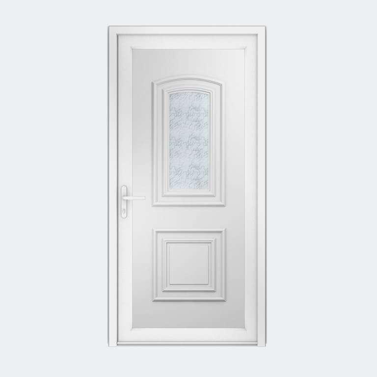 Porte entrée PVC gamme Classique modèle TAHITI S1 à 1 vantail