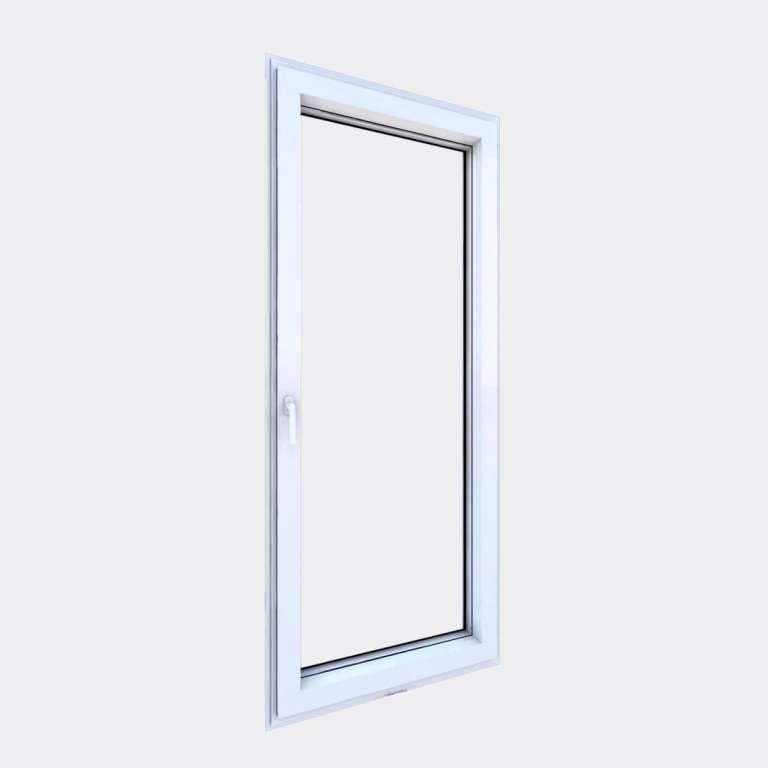Porte Fenêtre ALU gamme Titans 1 vantail oscillo-battant fermé