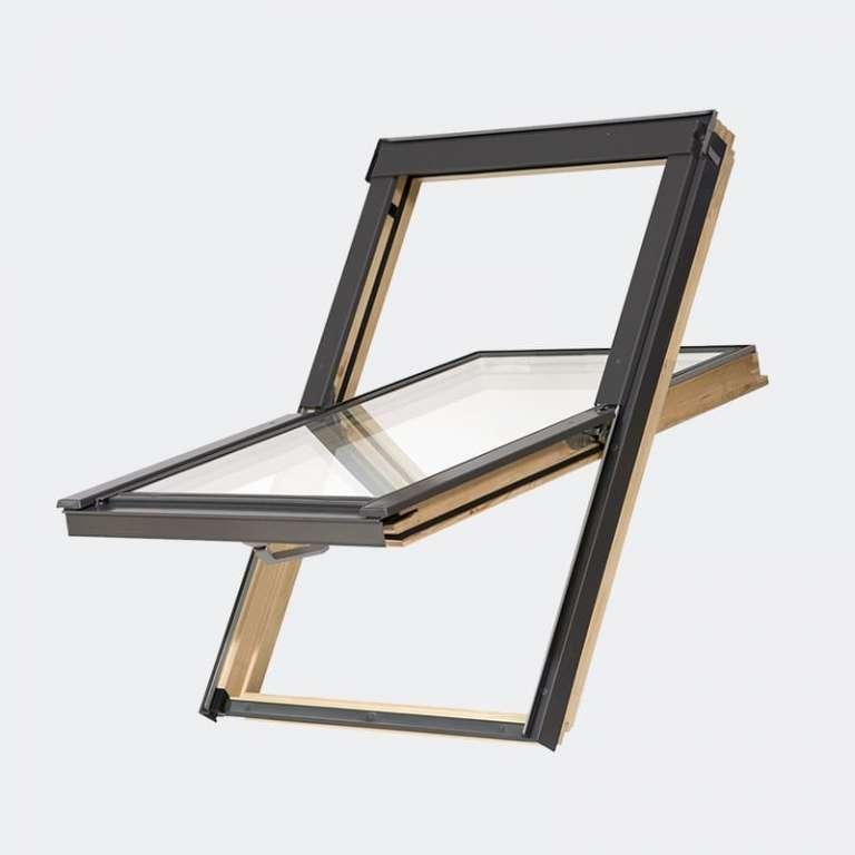 Fenêtre de toit Bois Slim design gamme Access double vitrage