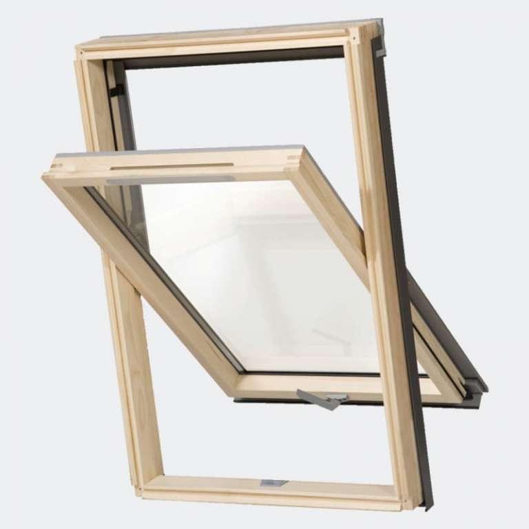 Fenêtre de toit Bois ventilée gamme Access