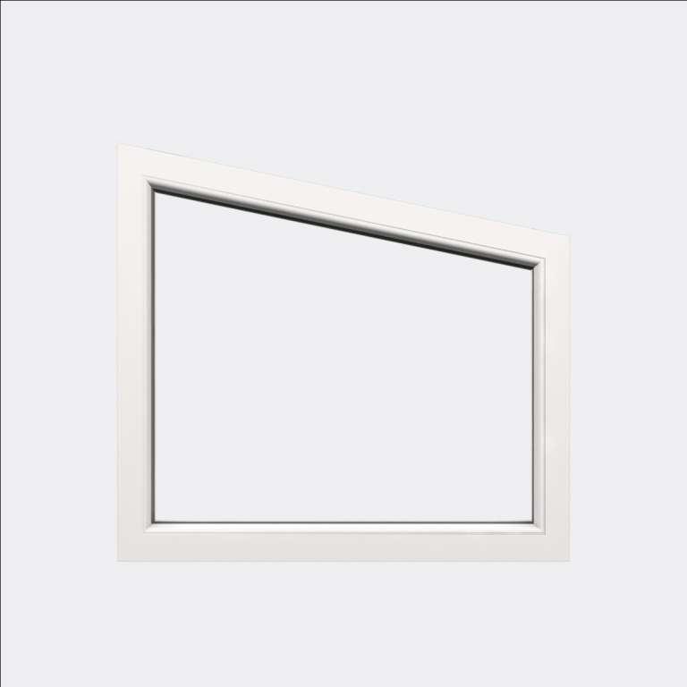 Fenêtre trapèze PVC gamme Design